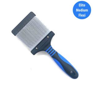 Elite Medium Flexi Brush - Bark & Bath Dog Grooming Glasgow